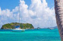 île Tobago Cay dans les îles Grenadines