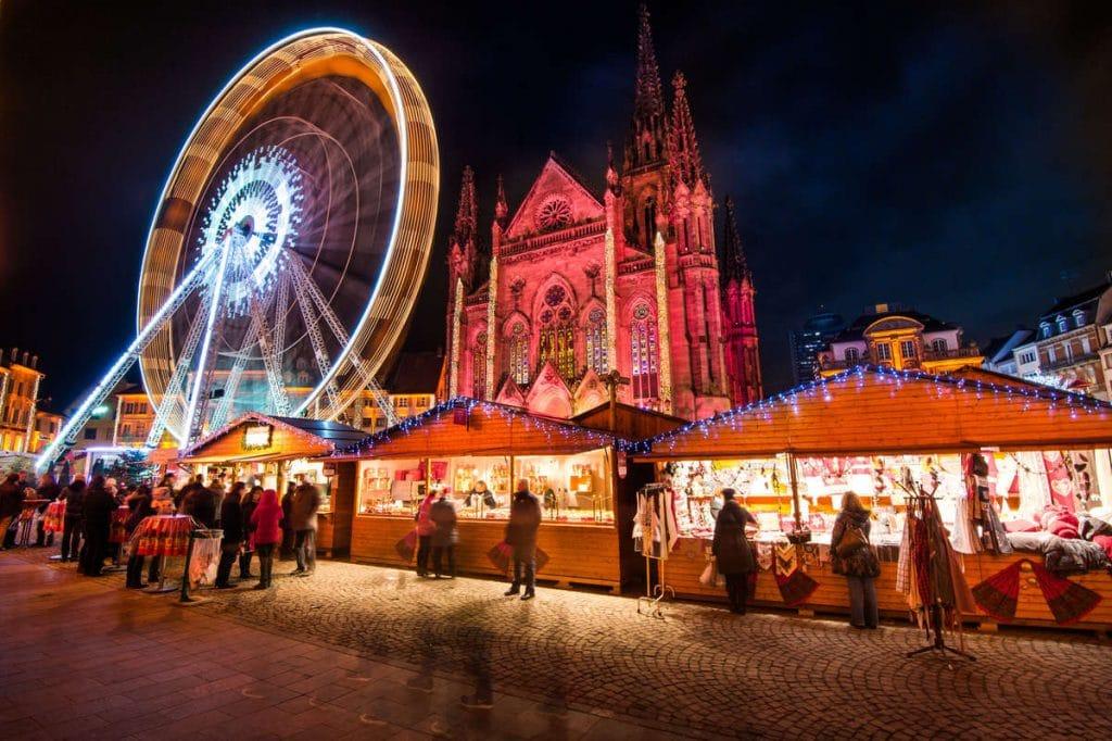 Marché de Noël à Mulhouse-©Ville de Mulhouse