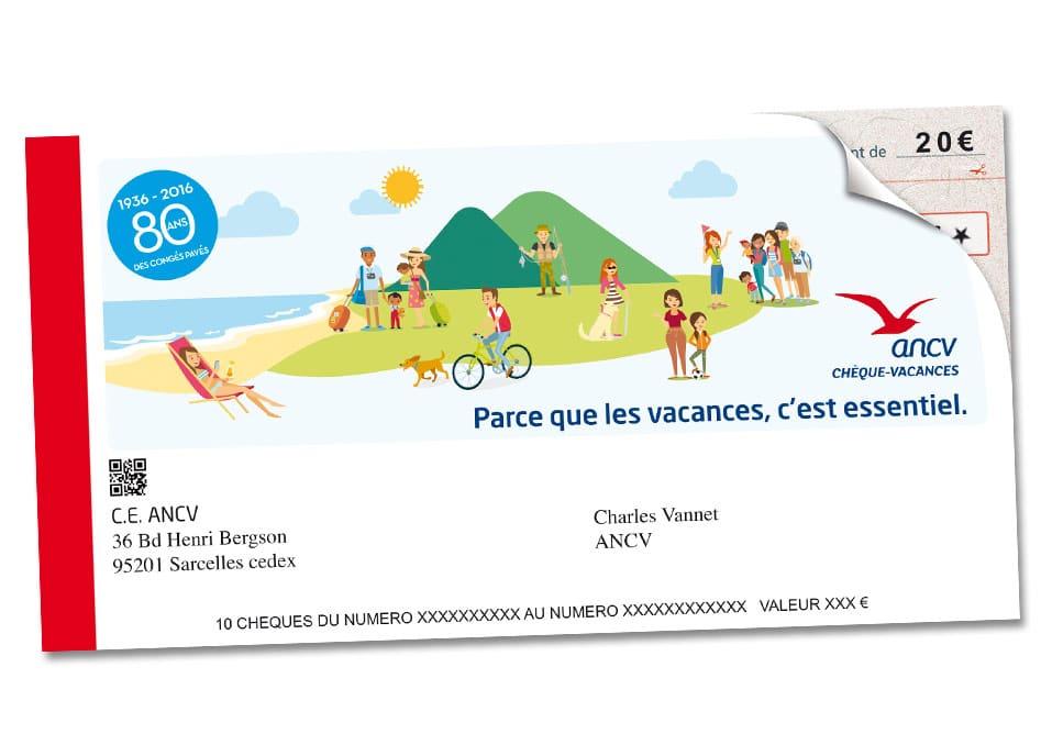 Carnet de chèques vacances ANCV