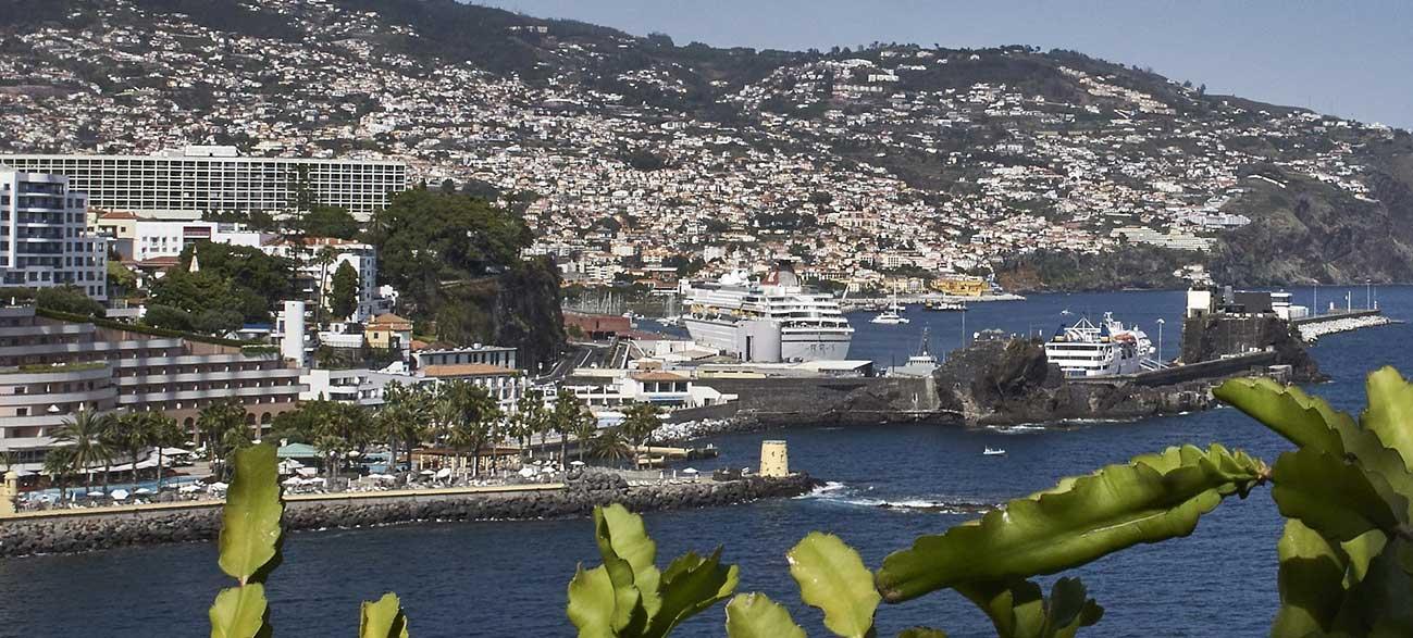 Ville de Funchal à Madère