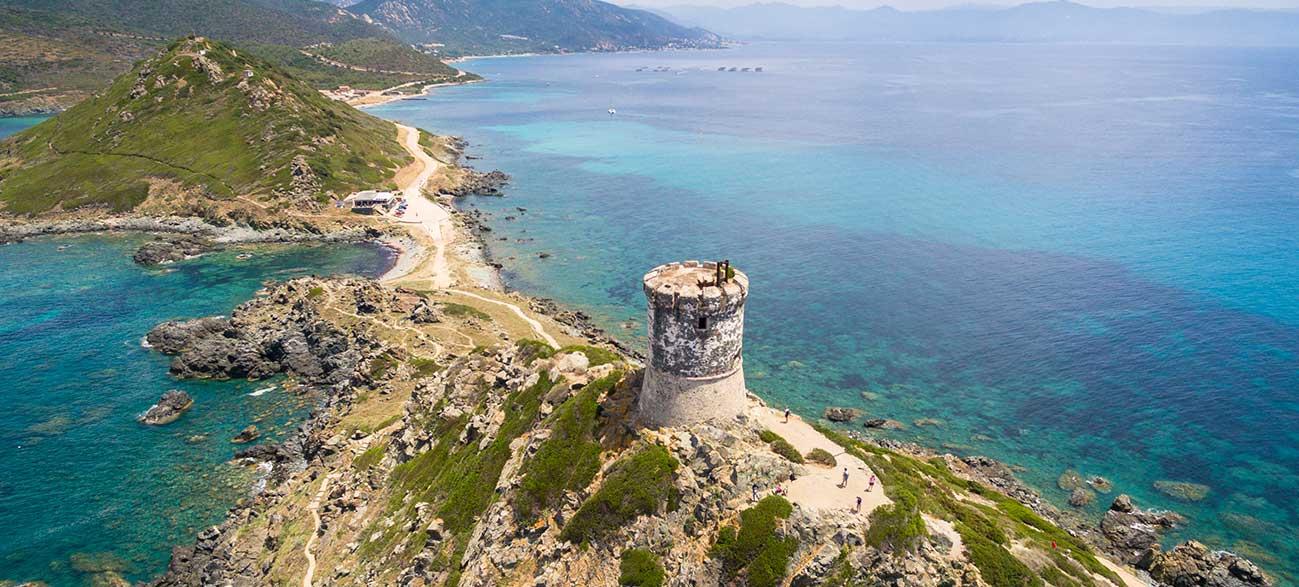 Route des Îles Sanguinaires en Corse