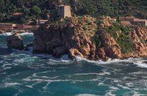 Ville de Porto en Corse