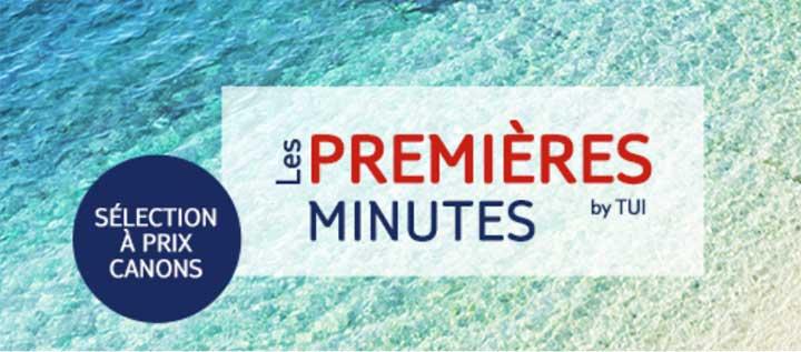 Les Premières Minutes by TUI