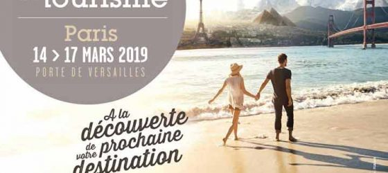 Salon Mondial du Tourisme Paris 2019