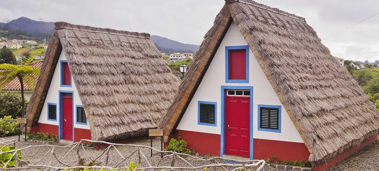 Village de Santana à Madère
