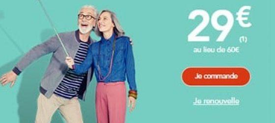 promo 2018 pour la carte senior + SNCF