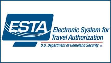 Autorisation électronique ESTA