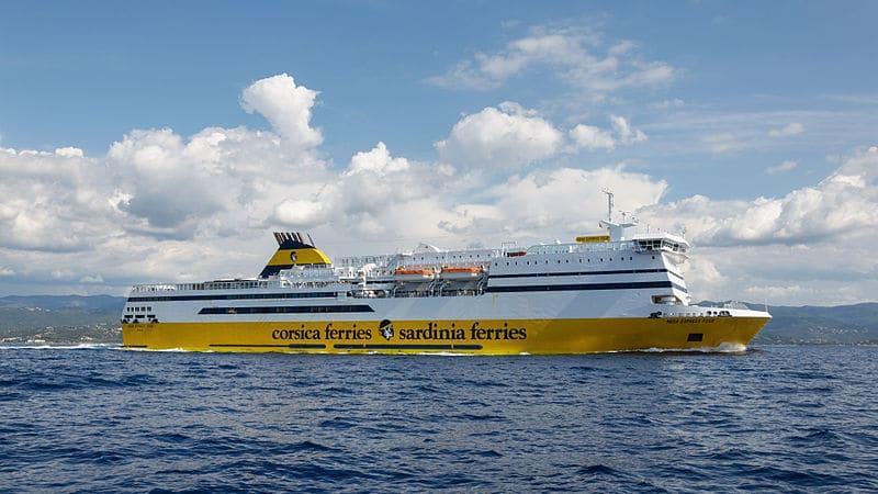 Ferry pour la corse Corsica Ferries