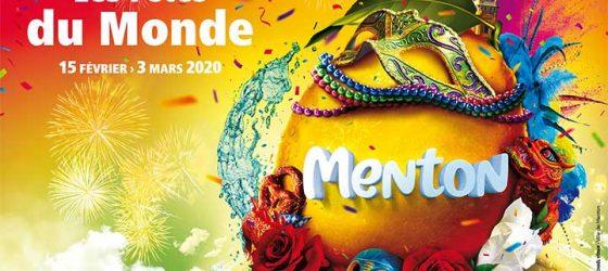 Affiche 87ème fête du citron de Menton Côte d'Azur