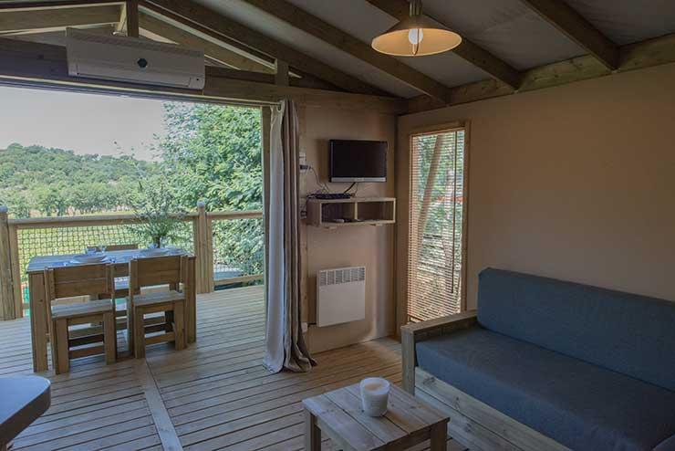 Logement Camping La Rouillère à Ramatuelle, Côte d'Azur