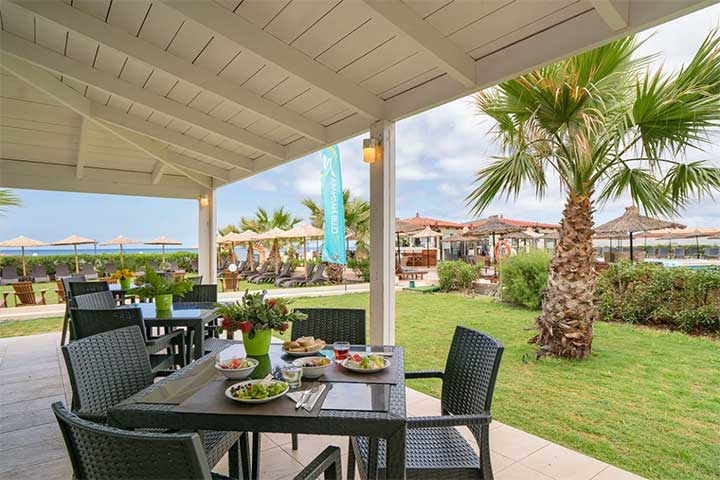 Restaurant Club Marmara Golden Star en Crète