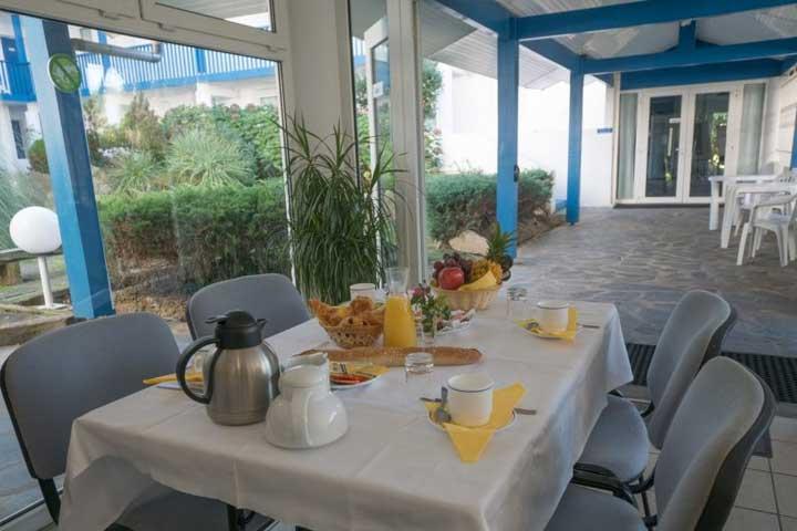 Petit-déjeuner à la Résidence Mer et Golf Fort Socoa, Urrugne