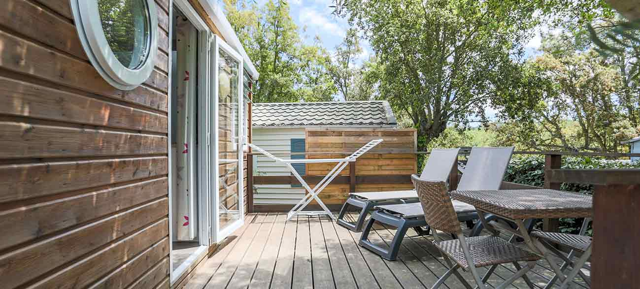 Location mobil-home Camping à Ramatuelle à proximité du golfe de St Tropez dans le Var