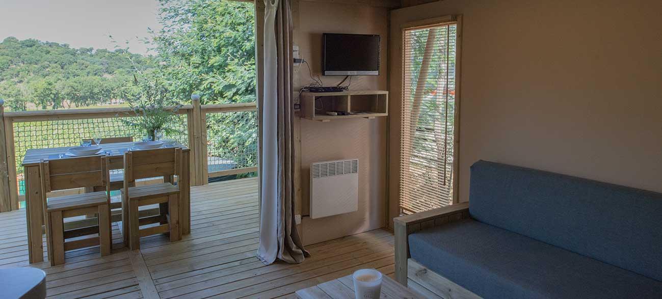Location sweetflower Camping à Ramatuelle à proximité du golfe de St Tropez dans le Var