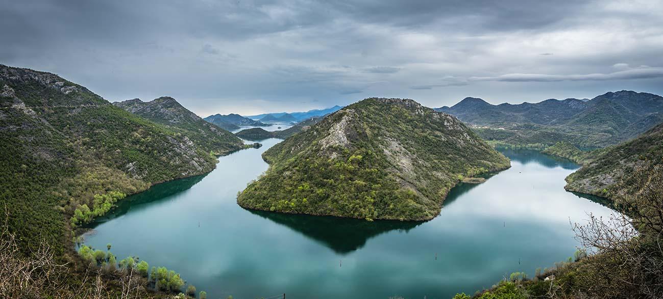 Rivière Crnojevica au Montenegro