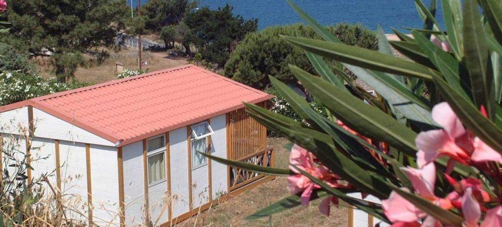 Chalet Camping Tikiti à Propriano en Corse