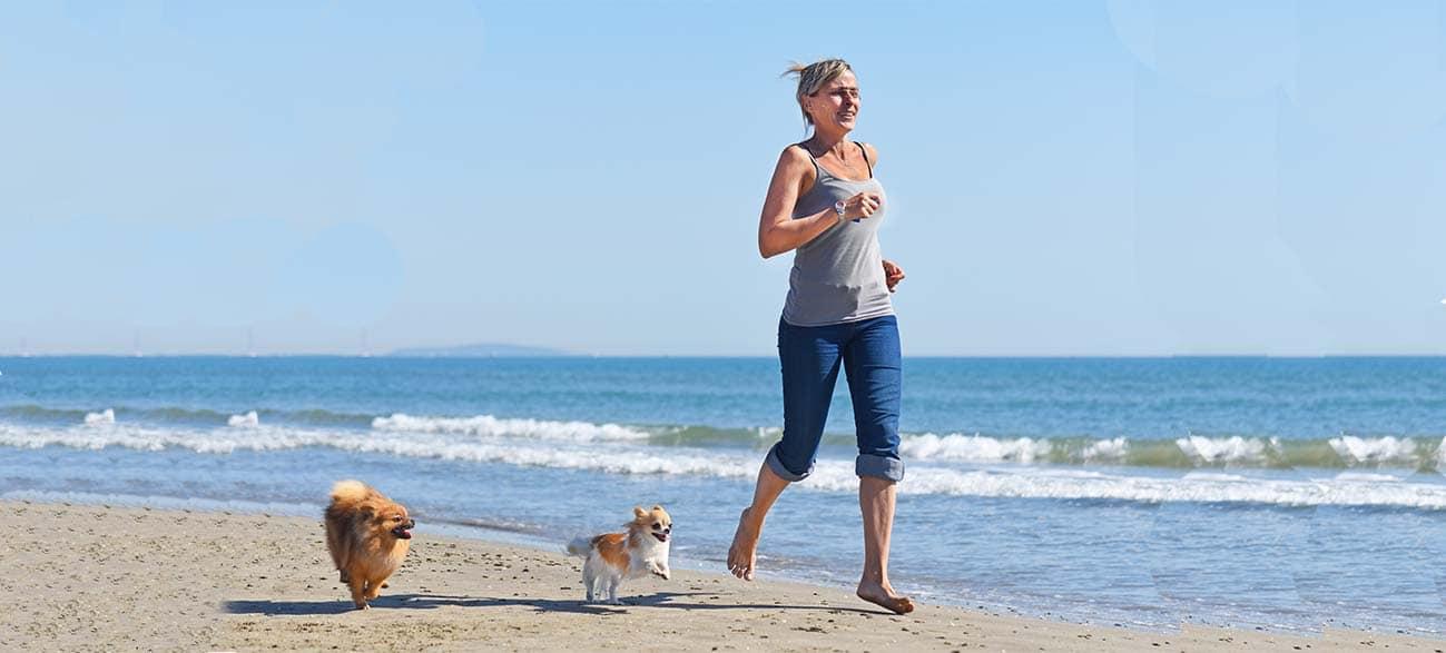 Courir avec son chien à Longeville-sur-Mer