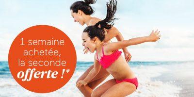 Promotions Odalys Vacances : 1 semaine achetée, la seconde offerte