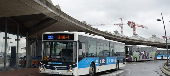 Bus de l'aéroport