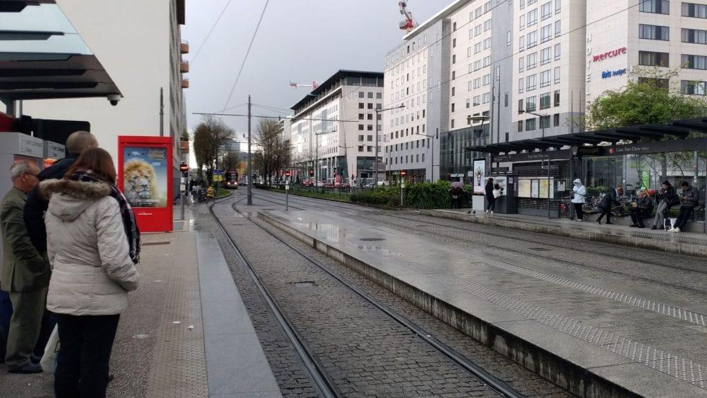 Station RhonExpress à la gare Part Dieu de Lyon