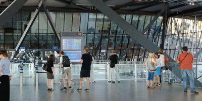Terminal 1 aéroport de Lyon