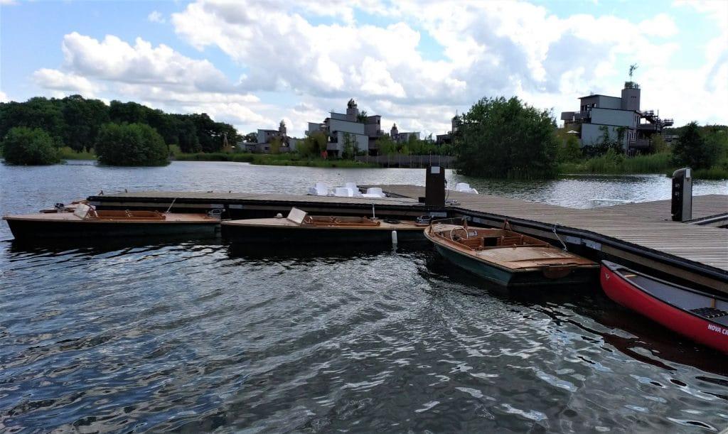 Bateaux électriques sur le lac
