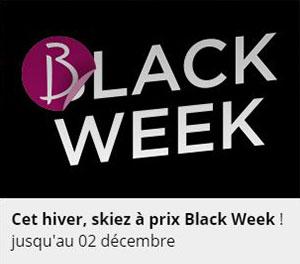 Offre Black Week hiver (au lieu de Black Friday)