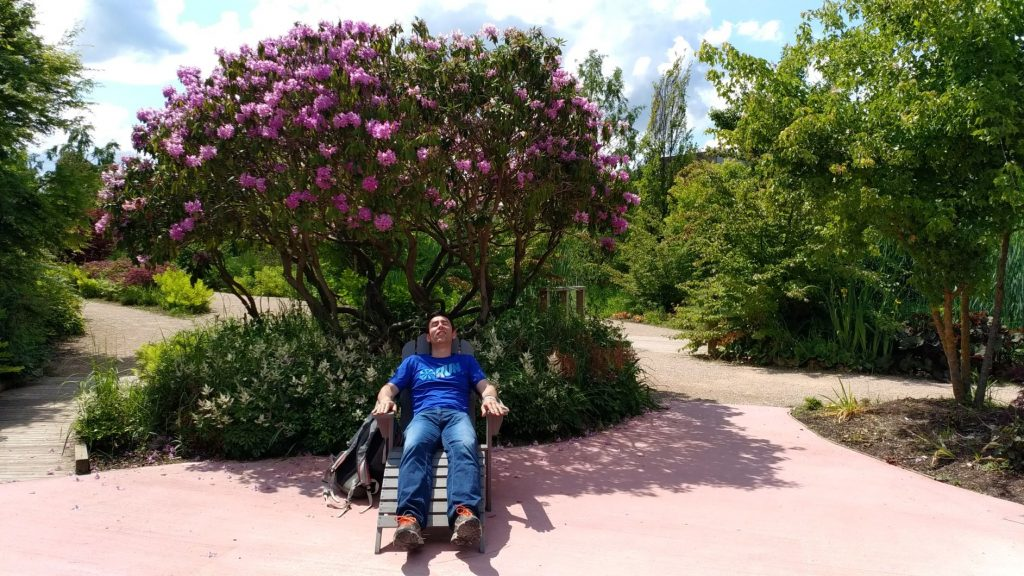 Sieste aux jardins extraordinaires!