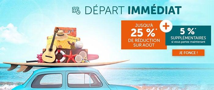 Promotion Les Départs Immédiats VVF Villages