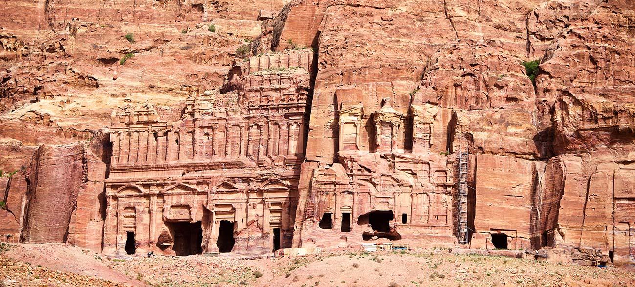 Petra en Egypte