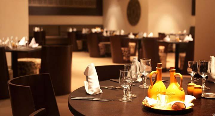 Restaurant du Seabel Alhambra à El Port Kantaoui en Tunisie