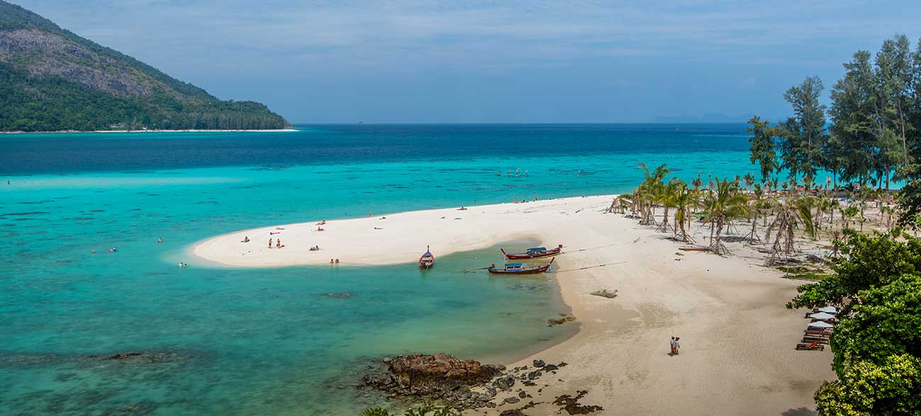 Plage dans la Baie de Phang Nga - Croisière Thaïlande
