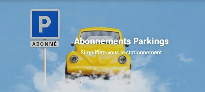Abonnement aux parkings de l'aéroport de Nantes