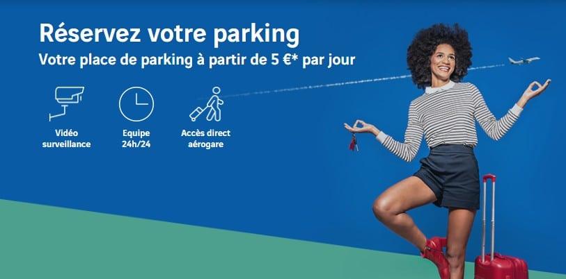 Prix des parkings à Nantes Atlantique