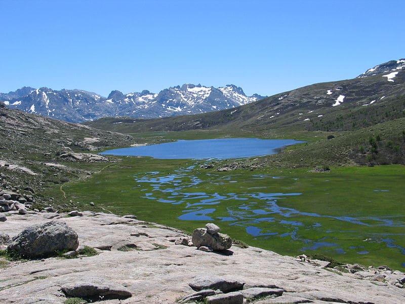 Lac de Nino en Corse