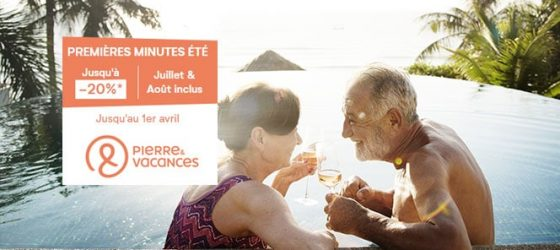 Première minute Pierre & Vacances