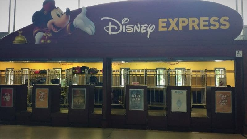 Service bagagerie Disney Express