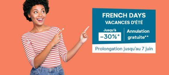 FRENCH DAYS VACANCES D'ÉTÉ - Pierre et Vacances