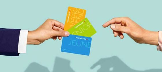 Carte senior Air France en promotion