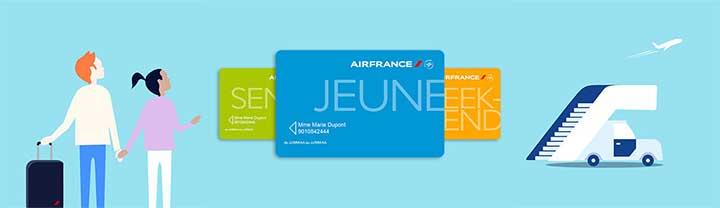 Carte jeune Air France