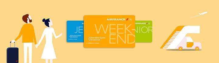 Carte week-end Air France