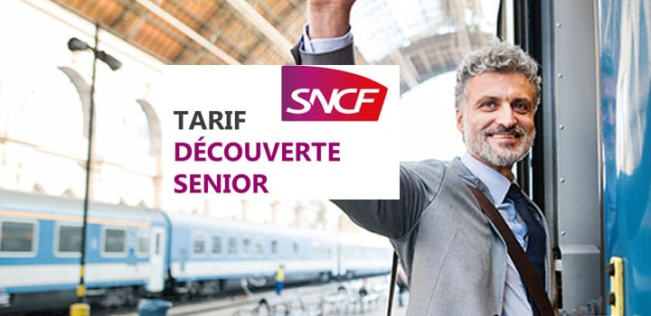 Tarif découverte SNCF pour les Seniors