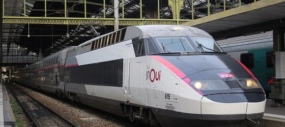 Train TGV prems inoui