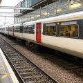 Train en gare SNCF