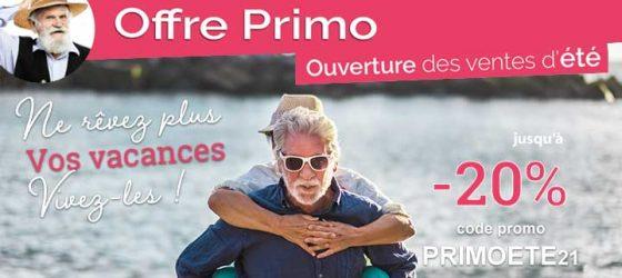 Première Minute Azureva : offre PRIMO été 2021