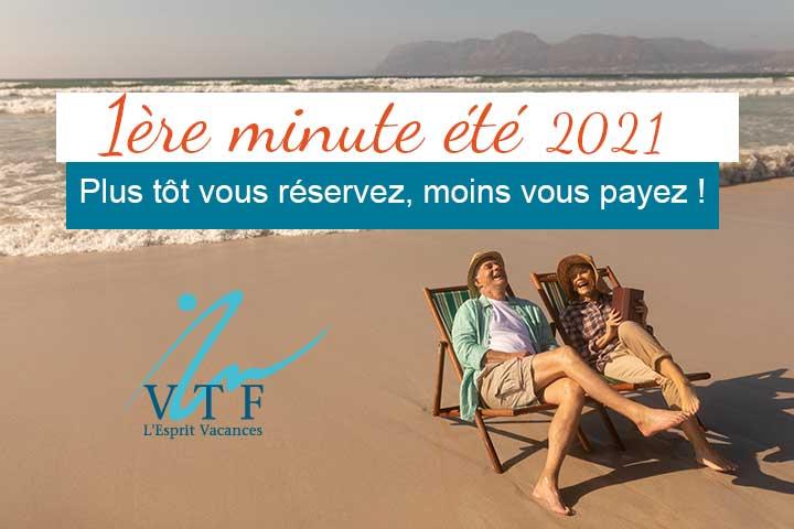 Première minute séjour été VTF Vacances