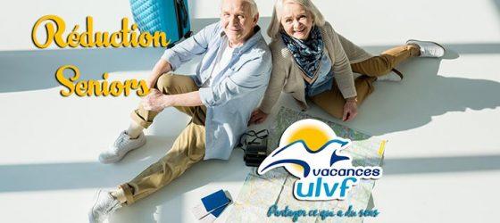 Réductions Seniors Vacances ULVF