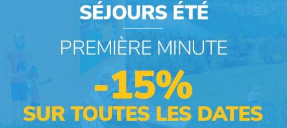 Séjours 1ère minute Club Vacances MMV