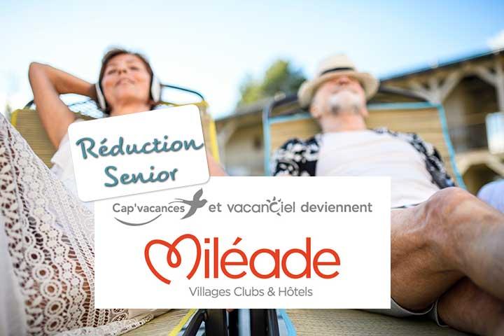 Réduction Senior Vacances Miléade