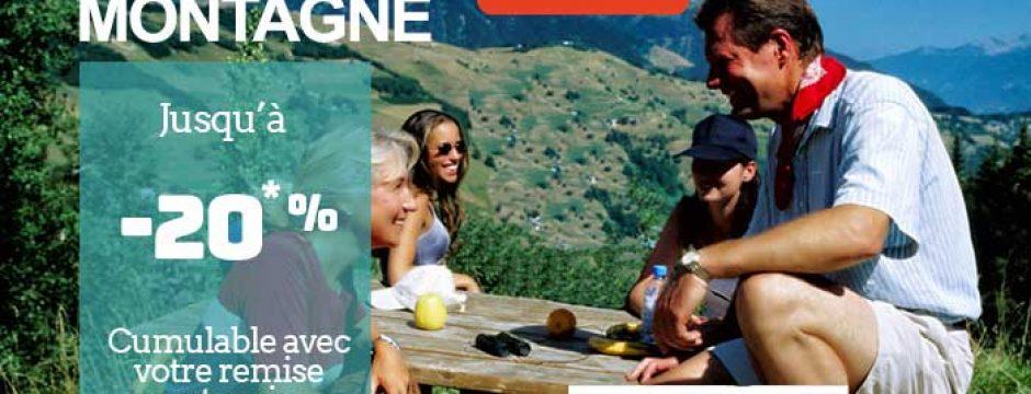 Offre privée Miléade sur vos vacances d'été à la montagne.